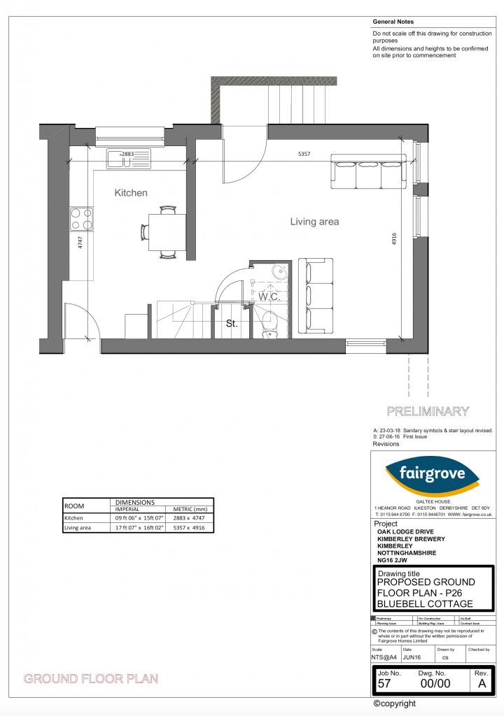 Bluebell Ground Floor - Fairgrove Homes